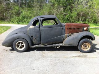 1937 38 Chevrolet Coupe No Engine or Transmission not Running