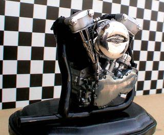 HARLEY DAVIDSON KNUCKLEHEAD ENGINE CHOPPER HOT RAT ROD NORTON TRIUMPH