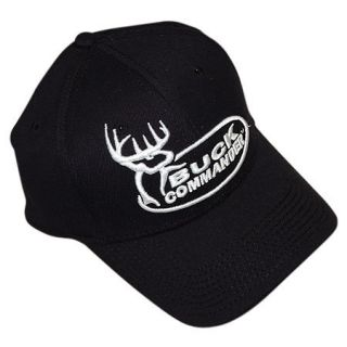 Buck Commander Black Logo Cap
