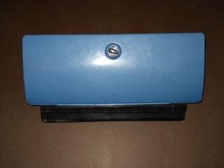 73 87 Chevy GMC Truck 73 91 Blazer Jimmy Suburban Glove Box in Blue