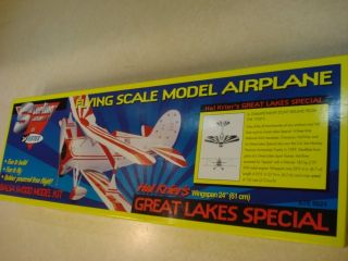 Sterling Models Great Lakes Special Free Flight Model Airplane Kit