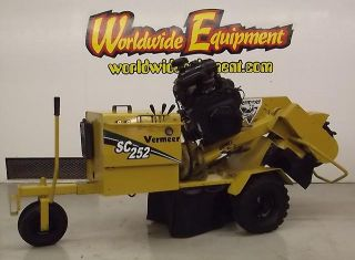 2005 Vermeer SC252 Portable Stump Grinder 25HP Autosweep