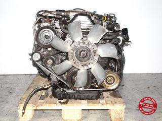 Toyota Crown Mark II Turbo Diesel EFI Engine Transmission JDM 2L TE