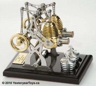 YT265 Twin Bridge Stirling Engine