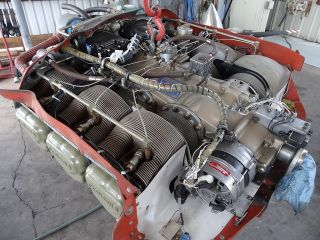 520 BB12B Complete Engine w Turbo Only 883hrs Sfoh Cessna 310