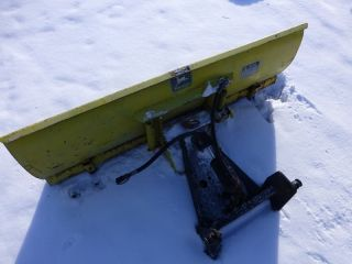 John Deere 140 H3 Tractor 54 Single Action Dozer Snow Blade