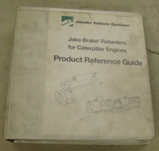 Jake Brake Retarders Cat Diesel Engine Reference Guide
