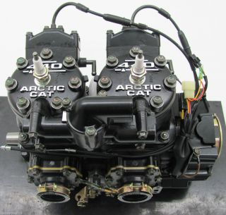 2001 ZR 440 Sno Pro Complete Engine Motor Suzuki New 0662 294