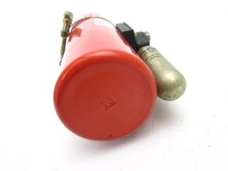 Street 1.0 Liter AFFF Engine Fire Suppression System Bottle