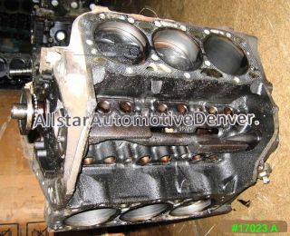 GM CHEVY 4 3L V 6 VORTEC ENGINE REBUILDABLE SHORT BLOCK 1996 1999
