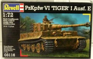 Revell Model Kit VI Tiger I Ausf E Tank 03116 Fast Shipping