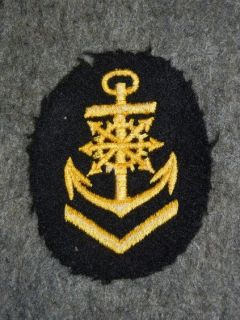 Original WWII Kriegsmarine Engine Senior NCO Badge