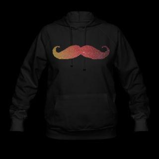 Hipster mustache Hoodie 7614689