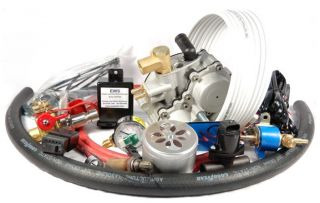 CNG Conversion Kit for 4 Cylinder Engines Model CNGC4