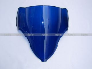 Blue Windscreen Windshield Screen for Suzuki GSXR1300 Hayabusa 97 03
