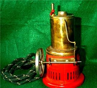 Vintage Weeden Live Steam Engine Model 420 Vertical Electric Antigue