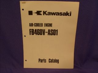 Kawasaki FB460V AS01 Parts List Gas Engine