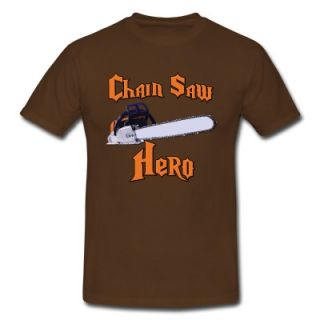 Chain Saw Hero Chainsaw T Shirt 8957565