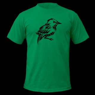 Bird Tribal Tattoo 2 T Shirt 11281006