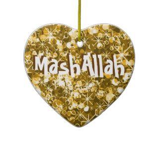 Mashallah islamische Feier Goldverzierung Ornament
