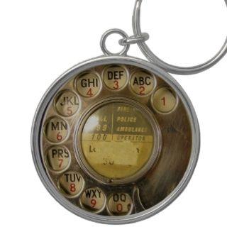 Antiker Telefon Skala Blick Gleiche (BILD) Schlüsselband