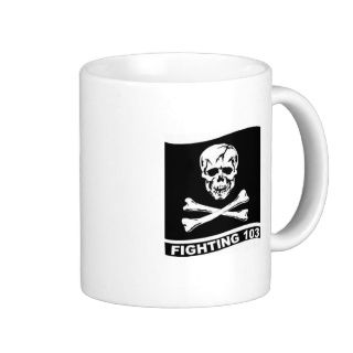 FIGHTING 103 JOLLY ROGERS VF 103 Coffe Mug VFA 103 Teehaferl von