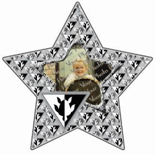 Dreieck Schildkröte kundenspezifische Foto Stern V Photo Figuren von
